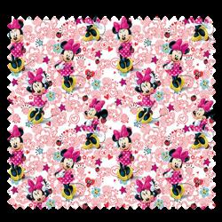 Tissu Disney Minnie Fond Blanc