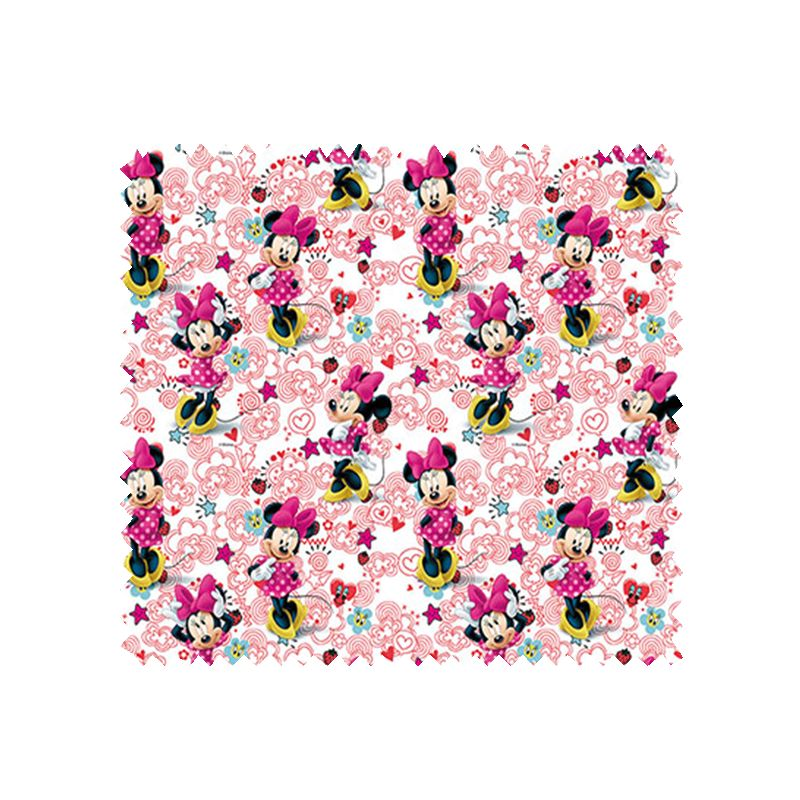 tissu disney minnie fond blanc tissus des ursules. Black Bedroom Furniture Sets. Home Design Ideas