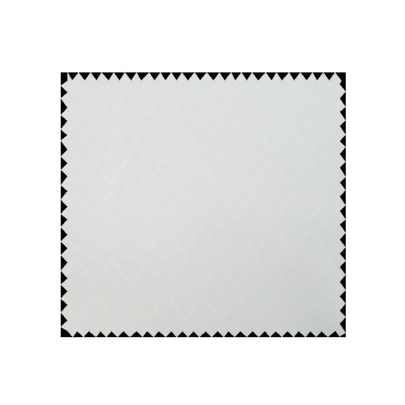 Tissu Voltige Jacquard Blanc
