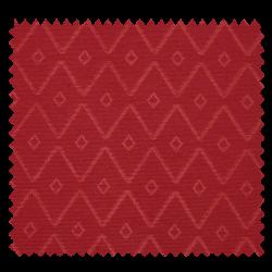Tissu Voltige Jacquard Rouge