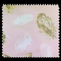 Tissu Eider Imprimé Rose Pale