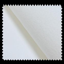 Tissu Eponge Microfibre Blanc