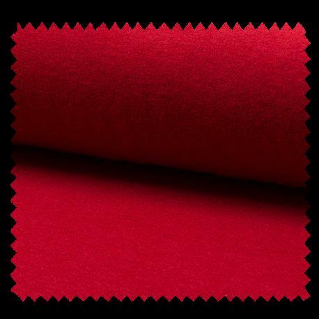 Tissu Jersey Eponge Rouge