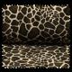 Tissu Fausse Fourrure Girafe