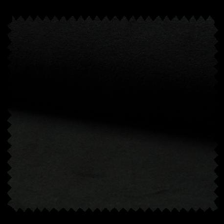 Tissu Jersey Eponge Noir
