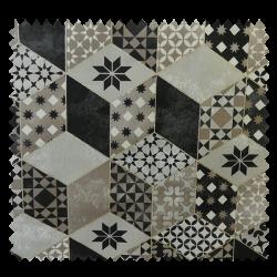 Tissu Bachette Rubiks Taupe