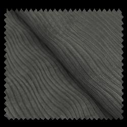 Tissu Suede Plissé Dark Grey