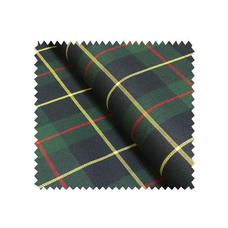tissu gabardine ecossaise vert tissus des ursules. Black Bedroom Furniture Sets. Home Design Ideas