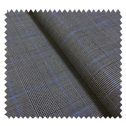 Tissu Prince De Galles Bleu