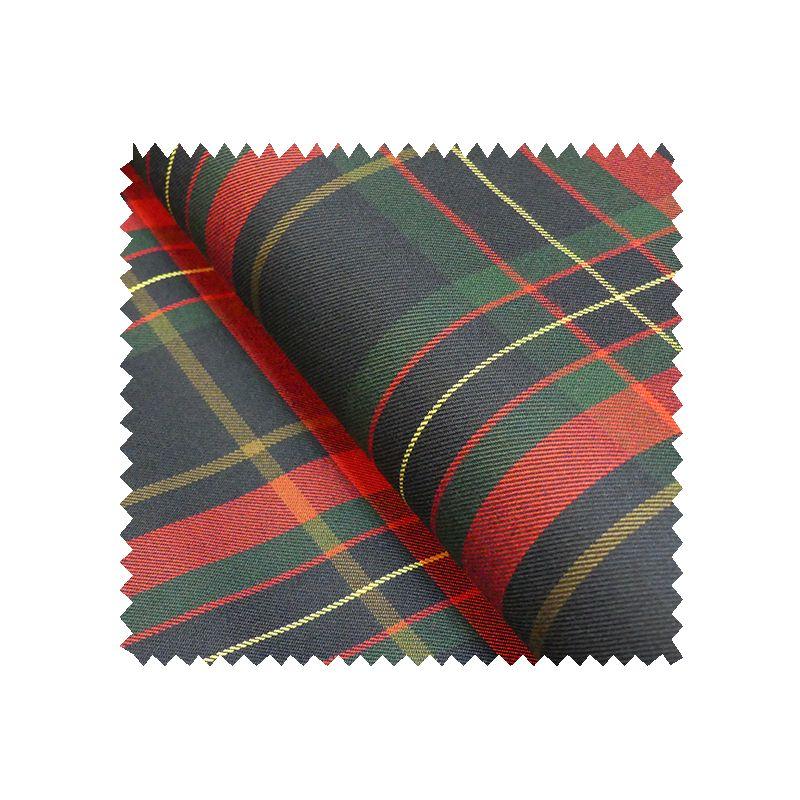 tissu gabardine ecossaise marine tissus des ursules. Black Bedroom Furniture Sets. Home Design Ideas
