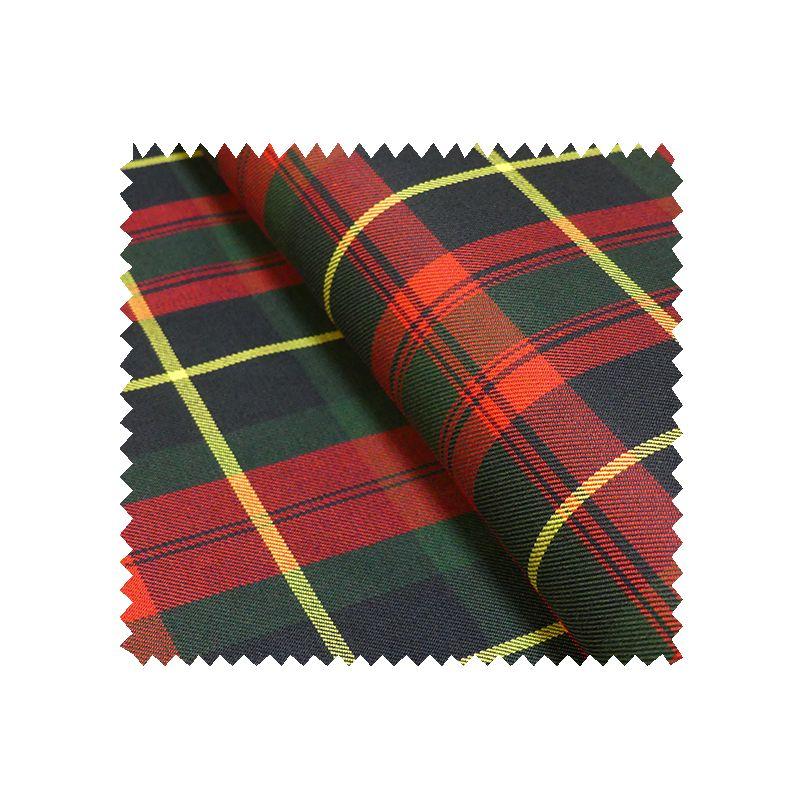 tissu gabardine ecossaise rouge et jaune tissus des ursules. Black Bedroom Furniture Sets. Home Design Ideas