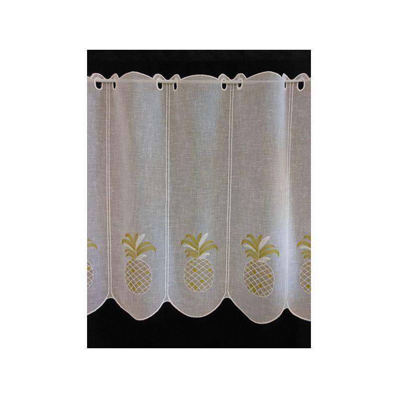 brise bise rustic ananas clair naturel moutarde 59 cm tissus des ursules. Black Bedroom Furniture Sets. Home Design Ideas