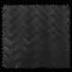 Tissu Simili Panier Noir