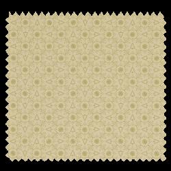 Tissu Coton de Noël Imprimé Sapin Doré