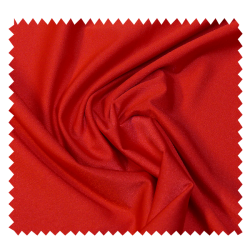 Tissu Jersey Charlie Extensible Uni Rouge