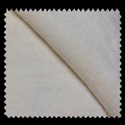 Tissu Micro Eponge Coton Bio Ecru
