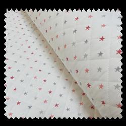 Tissu Matelassé Stars