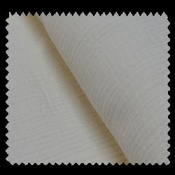 Tissu Double Gaze Ecru