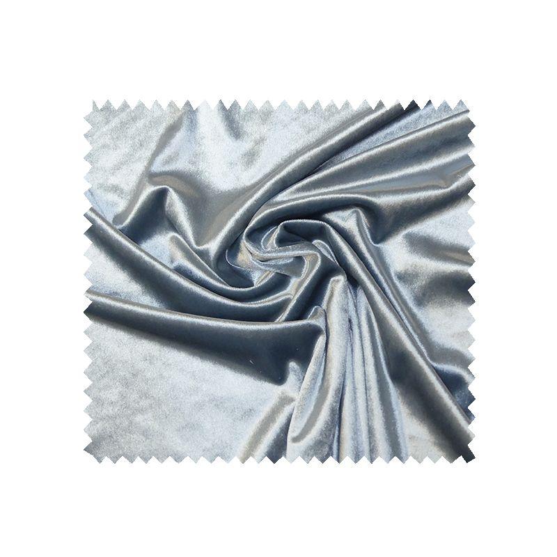 Tissu Velours Metal