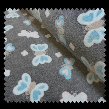 Tissu Papillons