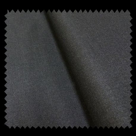 tissu gabardine anthracite tissus des ursules. Black Bedroom Furniture Sets. Home Design Ideas