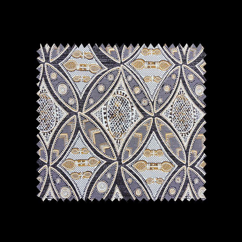 tissu jacquard mad caf tissus des ursules. Black Bedroom Furniture Sets. Home Design Ideas