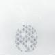Modulable Ananas Voile Marbre Blanc Gris Lurex Largeur 59 cm