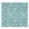 Tissu Coton Popeline Graphic Menthe