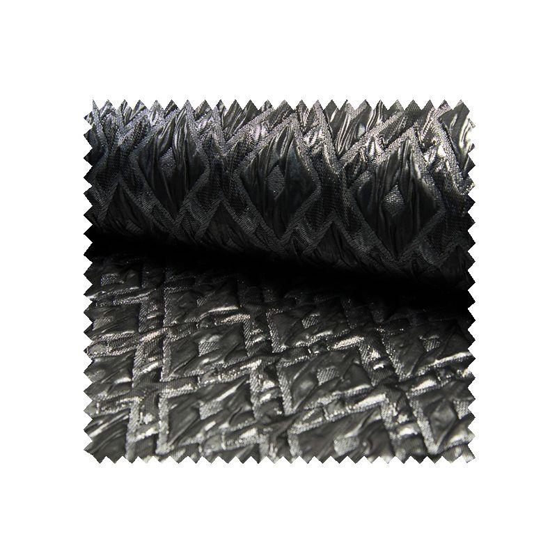 Tissu Brocard Silver