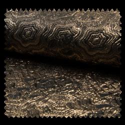 Tissu Brocard Gold