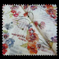 tissu tiffany bouquet tissus des ursules. Black Bedroom Furniture Sets. Home Design Ideas