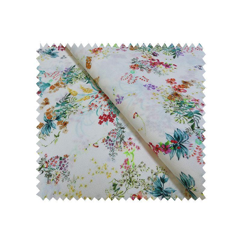 tissu greta fleurs tissus des ursules. Black Bedroom Furniture Sets. Home Design Ideas