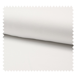 Tissu Jersey Coton Organique Blanc