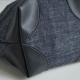 Tissu Simili CuirKaria Noir