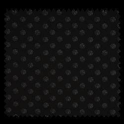Tissu Crepe Empreinte Black