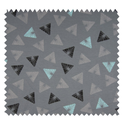 Tissu Triangle Aqua
