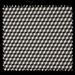 Tissu Bengaline Cubic