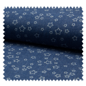 Tissu Jeans Stretch Etoile