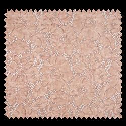 Tissu Dentelle Stone Washed Vieux Rose