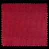Tissu Amazonas Enduit Uni Rouge