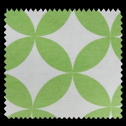 Tissu Toile Aguamarine Rosace Vert