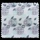 Tissu Jacquard Kabu Bleu Vert