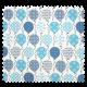 Tissu Cretonne Balloon Aqua