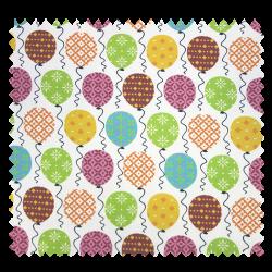 Tissu Cretonne Balloon Multicolore