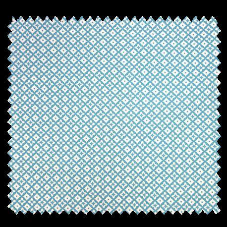 Tissu Cretonne Dounia Aqua