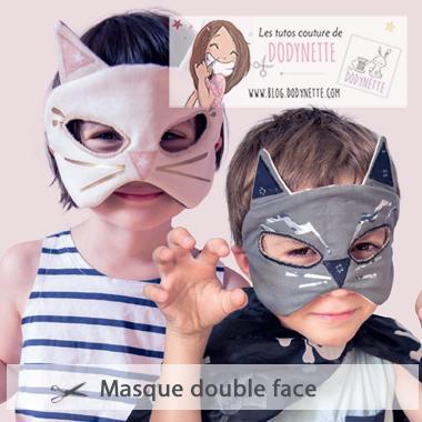 Masque double face