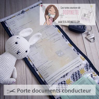 Tutoriel Pochette du Conducteur Dodynette