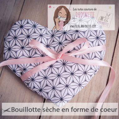Tutoriel Bouillotte Seche Coeur - Dodynette