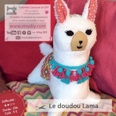 Tutoriel Mon Doudou Lama - Vinydiy