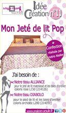 Mon Jeté de lit Pop